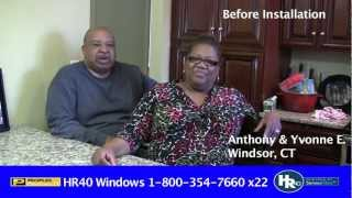 Anthony & Yvonne E. - Windows Testimonial