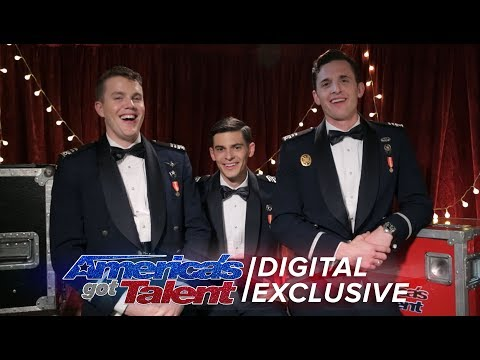 A Cappella Group, In The Stairwell, Discusses Howie's Buzzer - America's Got Talent 2017