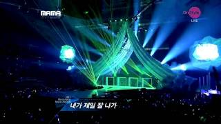 [111129] 2ne1 - Lonely + I Am The Best @ The MAMA Awards 2011 Singapore HD