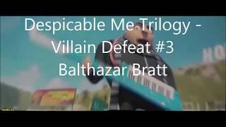 Despicable Me Trilogy - All Villains Defeated (Vector, El Macho & Balthazar Bratt!)