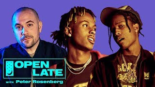 Open Late with Peter Rosenberg - A$AP Rocky and Rich The Kid join Peter Rosenberg for debut episode of