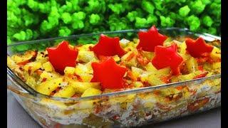 """Картофель """"ВИКТОРИЯ"""" !!! Несколько простых ингредиентов, а как вкусно и красиво !"""