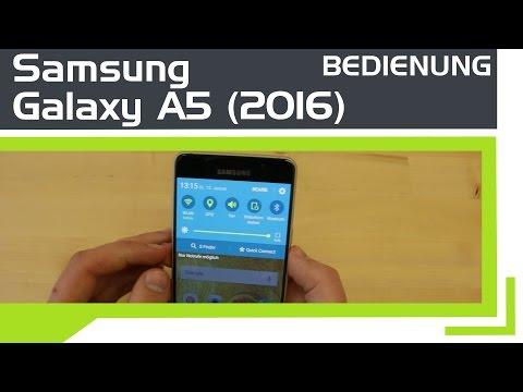 Samsung Galaxy A5 (2016) - Bedienung