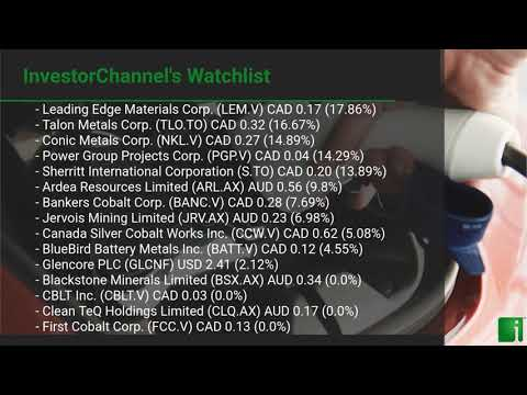 InvestorChannel's Cobalt Watchlist Update for Tuesday, Aug ... Thumbnail