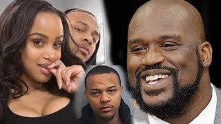 Bow Wow was mad & Jealous of Kiyomi Leslie & Shaq O' Neal flirting  so HE