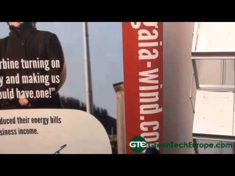 Gaia Wind: small Danish wind turbine manufacturer