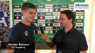 Morten Behrens im Interview