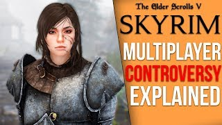 The Skyrim Multiplayer Mod Finds Itself at the Center of a New Controversy (Skyrim Together)