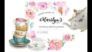 Tea Party Surprise