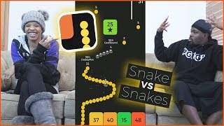 When You Find Out Your Wife Still Likes To Cheat! - Snake vs Block Gameplay