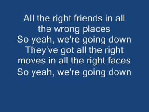 One republic - All the right moves (danger remix) lyrics