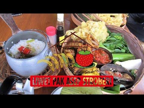 Video Wisata Kuliner - Nasi Liwet Asep Strawberry - Nggak mampir Nyesel