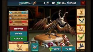 Dragões: A Ascenção de Berk: todos os dragões na forma de titãs (exceto dragões especiais).