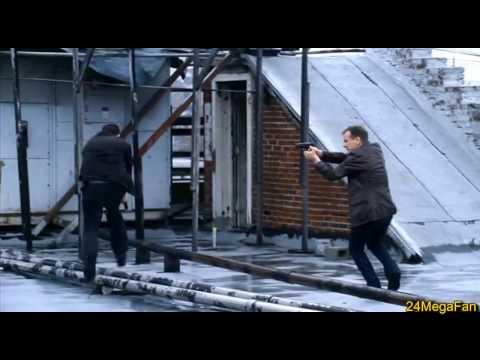 Jack kills Mark Bledsoe, Action Sequence - 24 Season 8