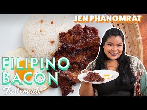 Filipino Bacon (Tocino) | Good Times with Jen