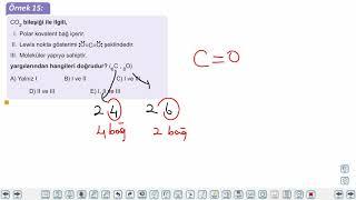 Eğitim Vadisi TYT Kimya 4.Föy Kimyasal Türler Arası Etkileşimler 2 (Kovalent Bağ, Metalik Bağ) Konu Anlatım Videoları