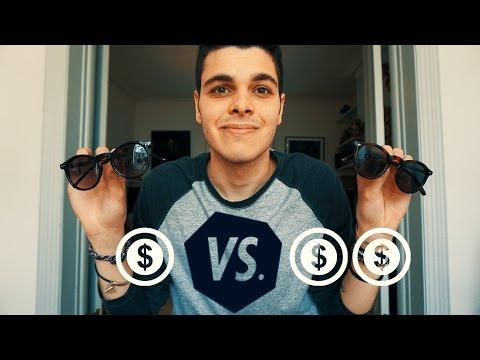 MIGLIORI OCCHIALI da SOLE LOW COST? - $ vs $$