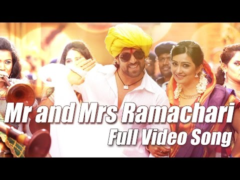 Download Mr & Mrs Ramachari - Title Track Full Video Kannada Movie Song Yash | Radhika Pandit | V Harikrishna HD Mp4 3GP Video and MP3