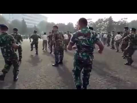 Philippine Army Dance and it
