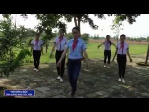video múa hát tập thể 2016 của hội đồng đội tỉnh Quảng Nam