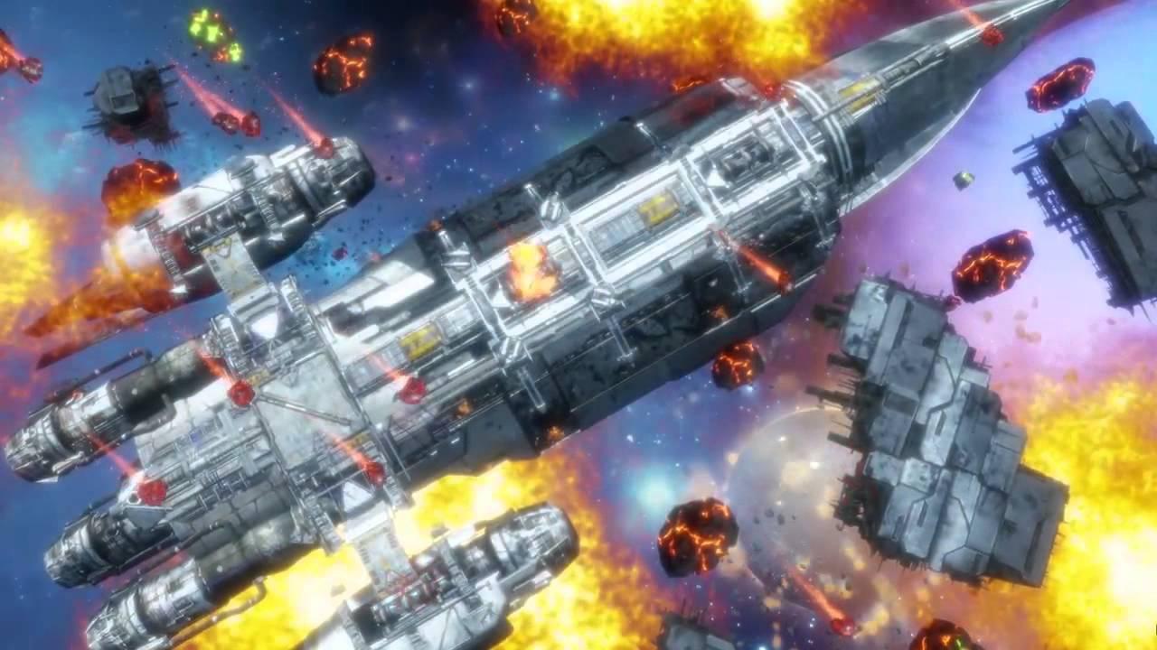 Beschützt in Dead Star auf PS4 ein riesiges Raumschiff