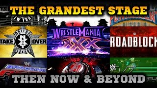 WWE 2K16 Mods: 40 Modded Arenas - Then Now & Beyond: The Grandest Stage