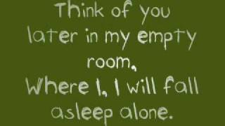 Every Avenue -  'Think of you later' [with lyrics]