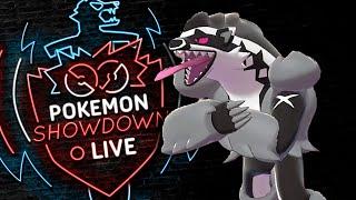 Enter OBSTAGOON! Pokemon Sword and Shield! Obstagoon Pokemon Showdown Live!