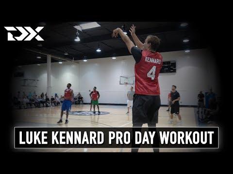 Luke Kennard CAA Sports Pro Day Workout