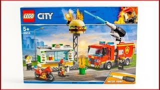 LEGO CITY 60214 Burger Bar Fire Rescue Speed Build For Collecrors - Collection Firefighter (44/53)