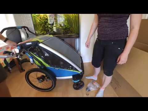 Fahrrad XXL Unboxing - Thule Chariot Sport 2 2018