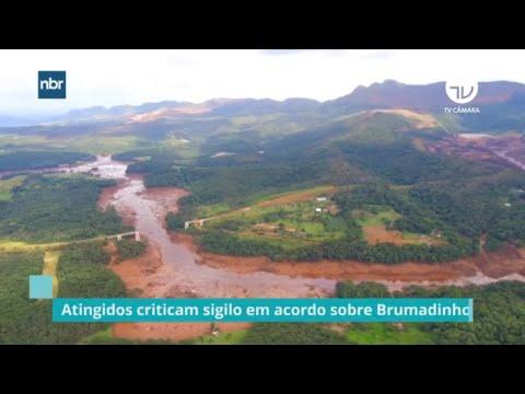 Atingidos criticam sigilo em acordo sobre Brumadinho - 03/12/20