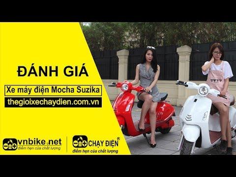Đánh giá xe máy điện Mocha Suzika