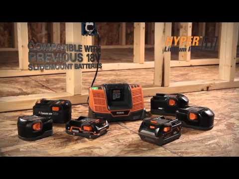 RIDGID Hyper™ Lithium-Ion Batteries