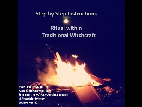 Sunday's with Satan! Step By Step Instructions - Ritual Within Traditional Witchcraft -