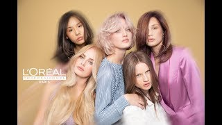 THE NEW GLOW COLLECTION for L\'Oreal Professionnel by Tim Kruik & Francis Schroembges