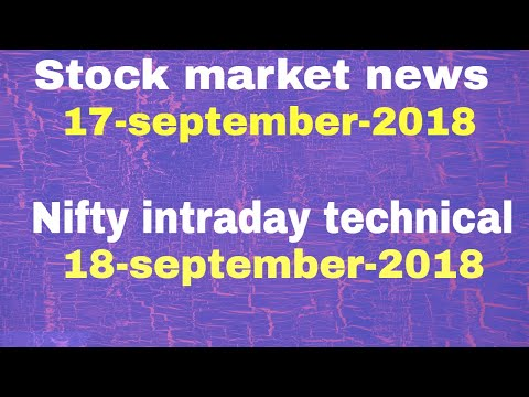 Stock market news #17-Sep-2018 - Tcs, tata comm., mintree, sun pharma, inderprasth gas 🔥🔥🔥