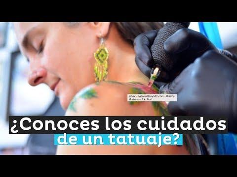 ¿Conoces los cuidados de un tatuaje?