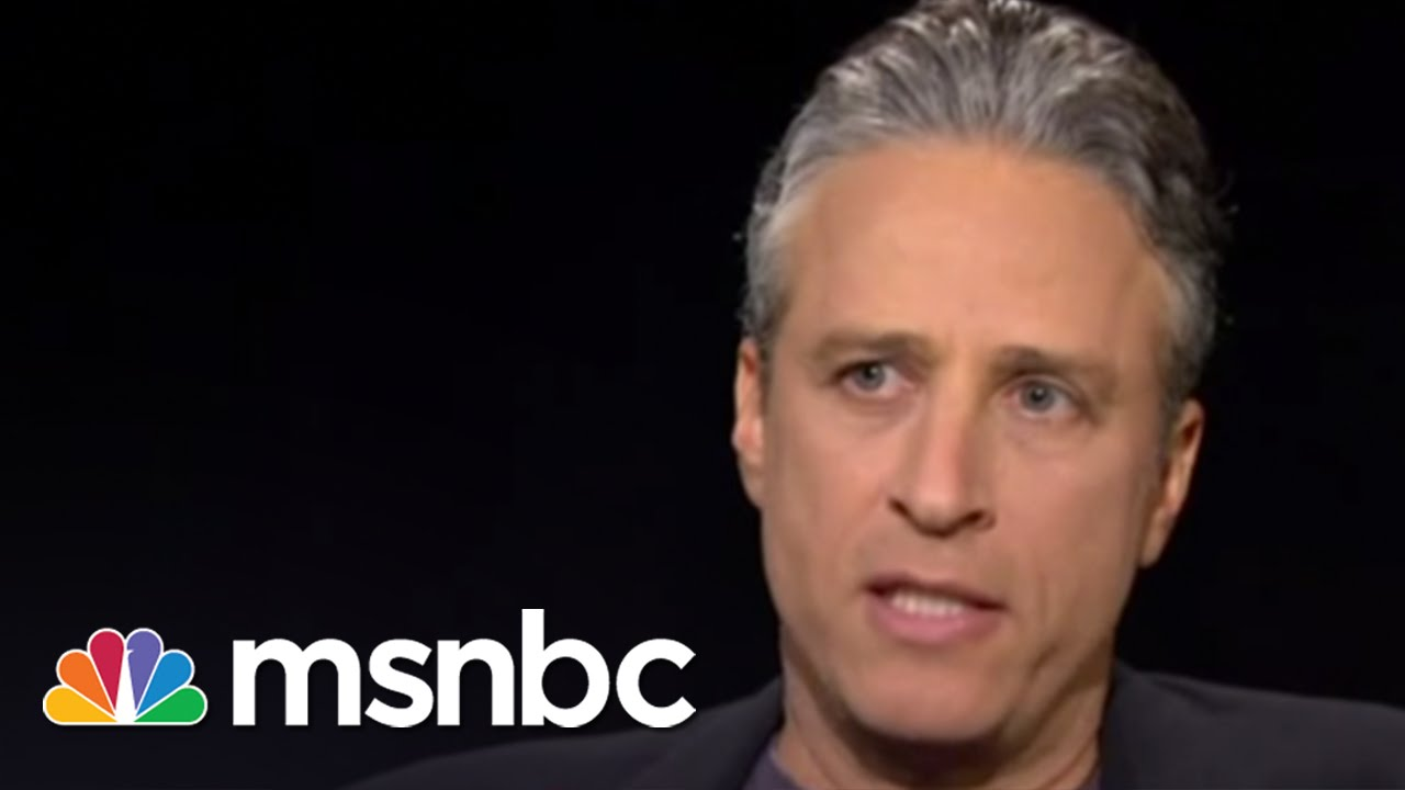 Jon Stewart Interview (2010): The 'Daily Show' Mission   Rachel Maddow   MSNBC thumbnail