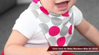 Check out Baby Bandana Bibs with Snaps