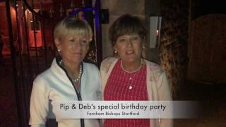 Pip & Deb's Special birthday party
