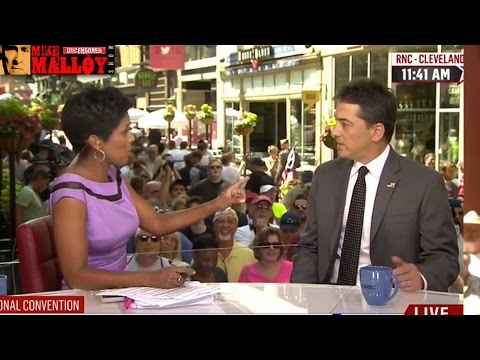 MSNBC's Tamron Hall Destroys Scott Baio On Live TV For Calling Hillary Clinton A Cunt
