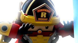 Робокар Рой и Пожарная безопасность - Мультики про машинки для детей
