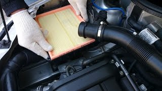 preview picture of video 'OPEL Corsa - Air Filter Replacement'