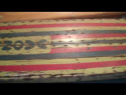 Classic Longboards, Lighthouse Surfing Museum, Santa Cruz, California USA.MP4