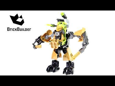 Vidéo LEGO Hero Factory 44023 : Rocka et son robot de combat