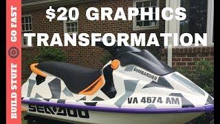 Dirt Cheap Jet Ski Graphics