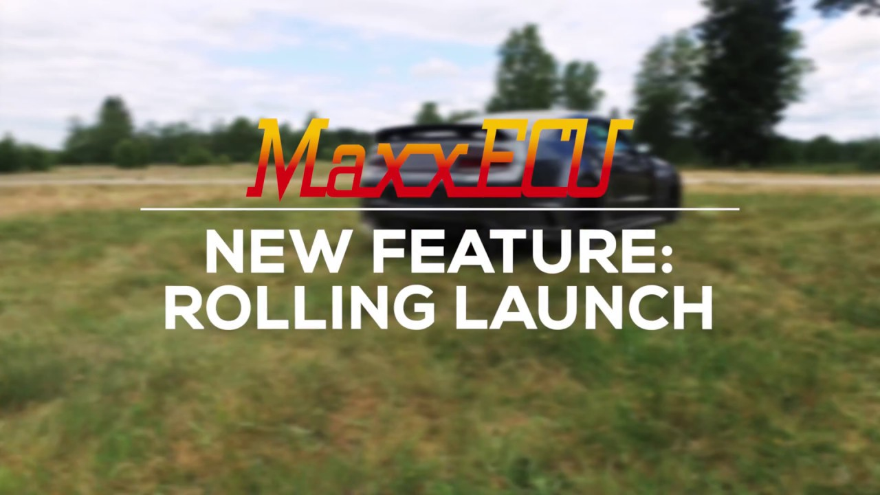 MaxxECU rolling launch