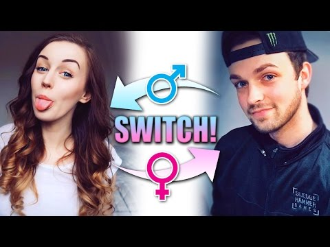 GENDER SWITCH... What Would We Look Like!? 👦🏻🔄👩🏻 (FaceApp)