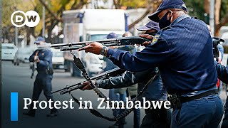Rising tensions in Zimbabwe   DW News